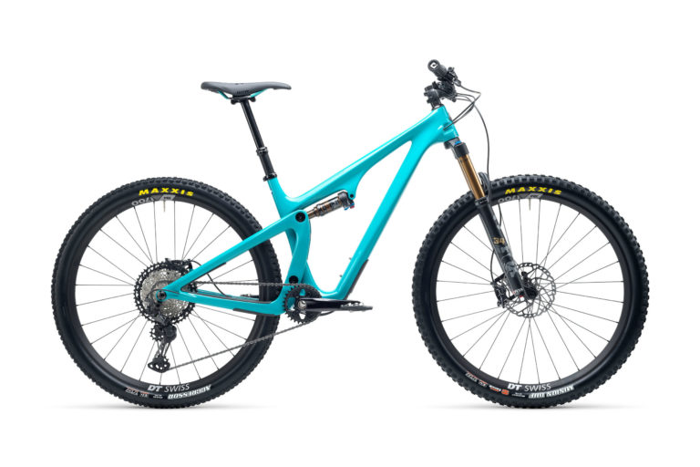 2021 YetiCycles SB115 T1 Turquoise