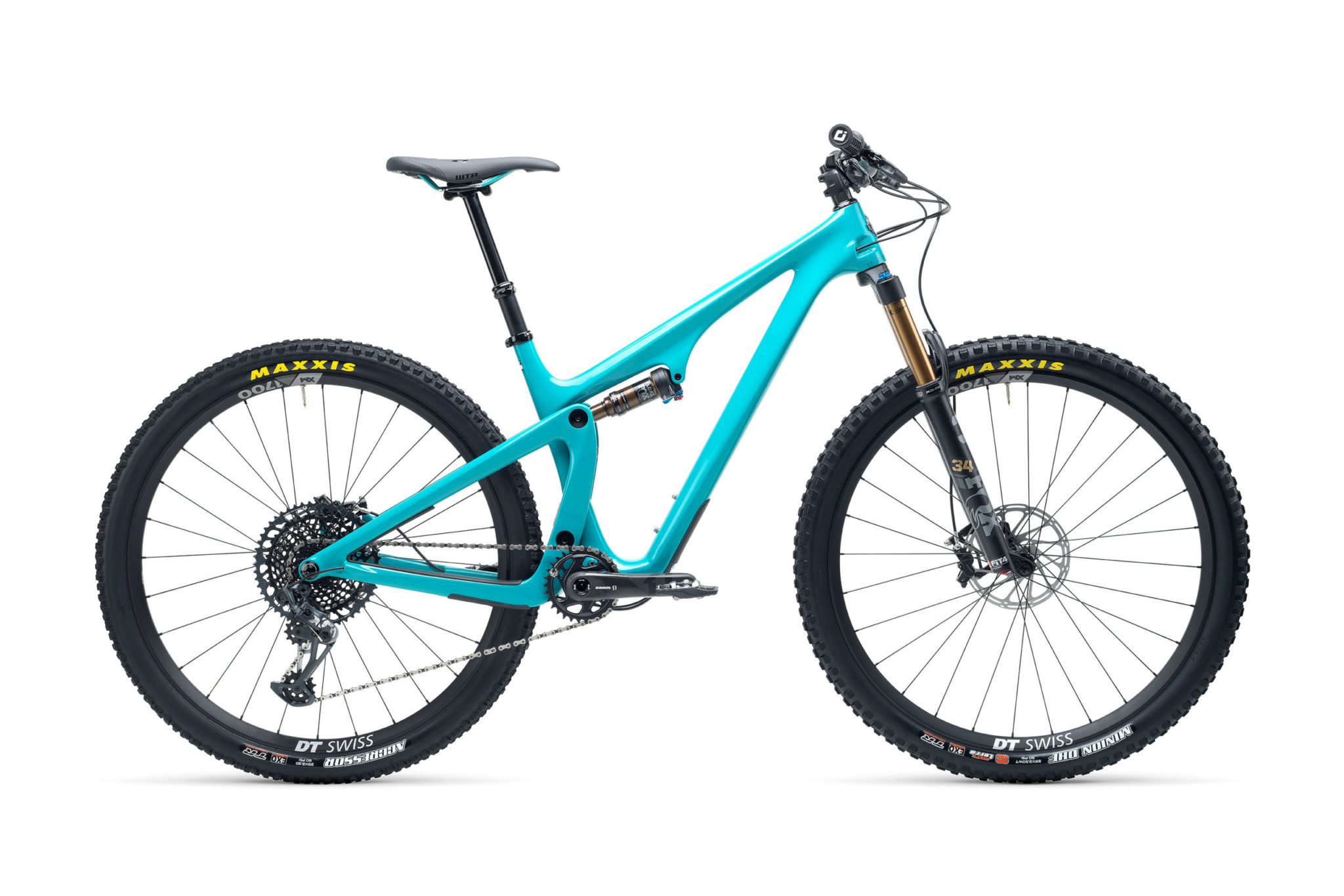 2021 YetiCycles SB115 T2 Turq scaled