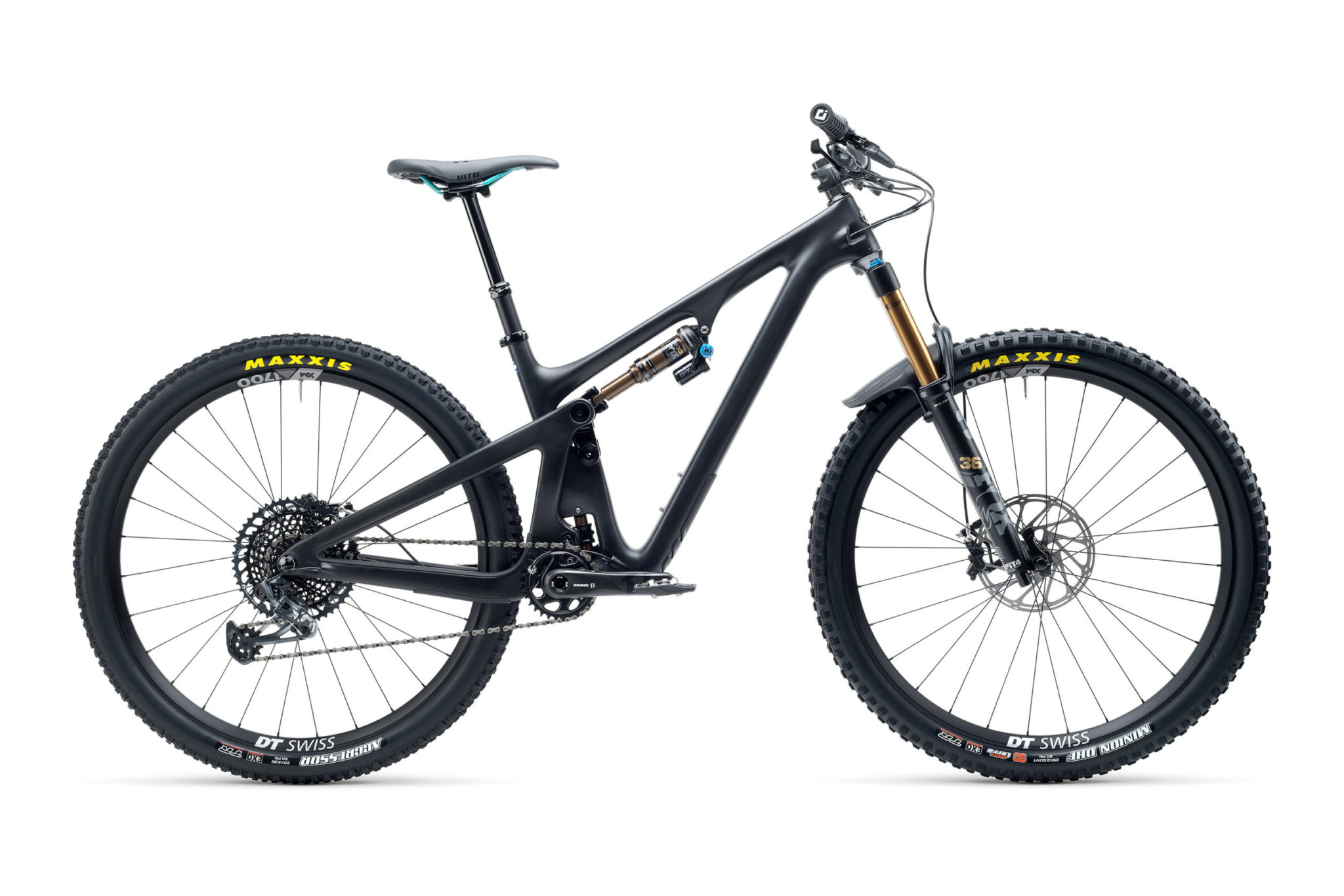 2021 YetiCycles SB130 T2 Black scaled