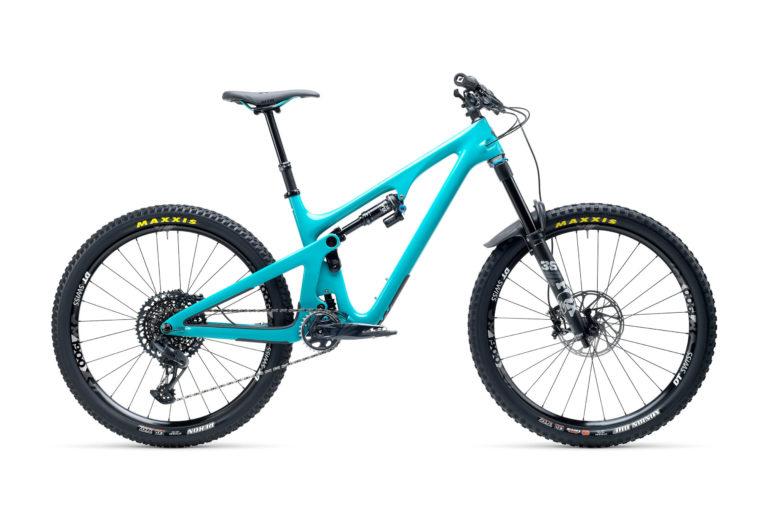 2021 YetiCycles SB140 C2 Turq