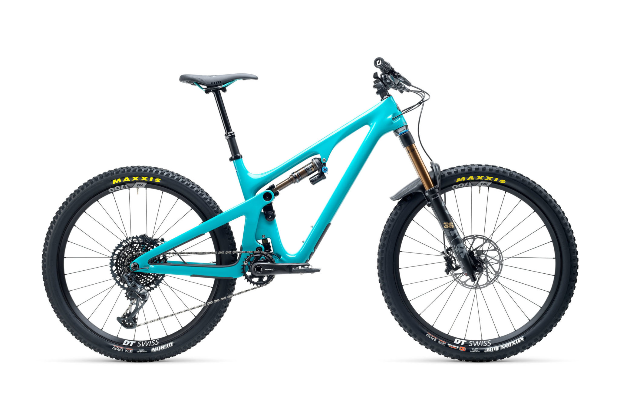 2021 YetiCycles SB140 T2 Turq scaled