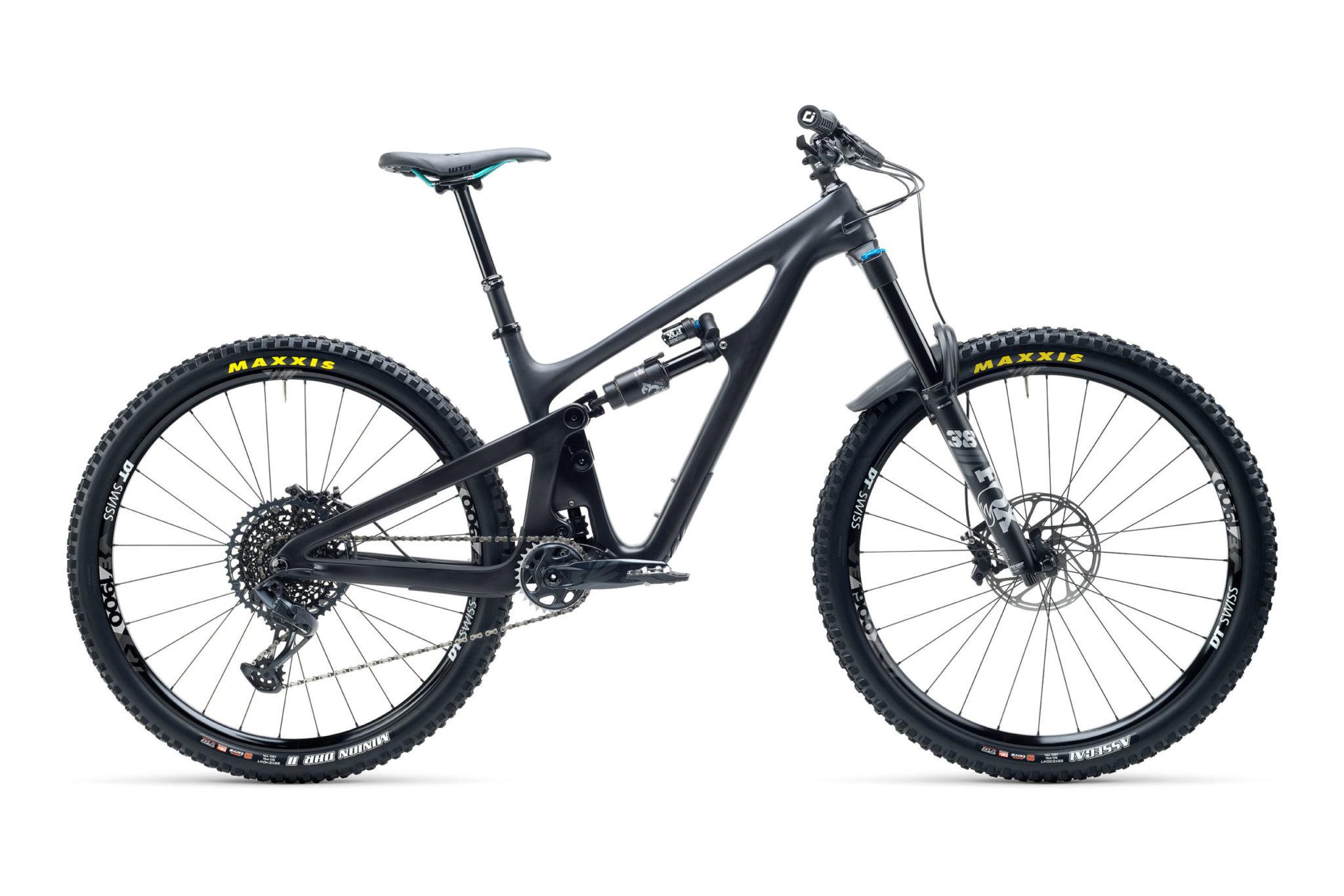 2021 YetiCycles SB150 C2 Black scaled