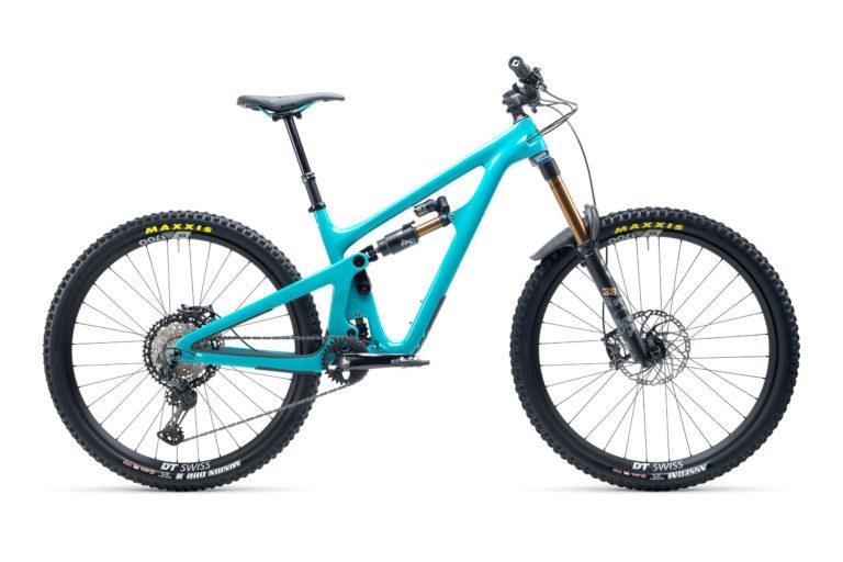 2021 YetiCycles SB150 T1 Turq