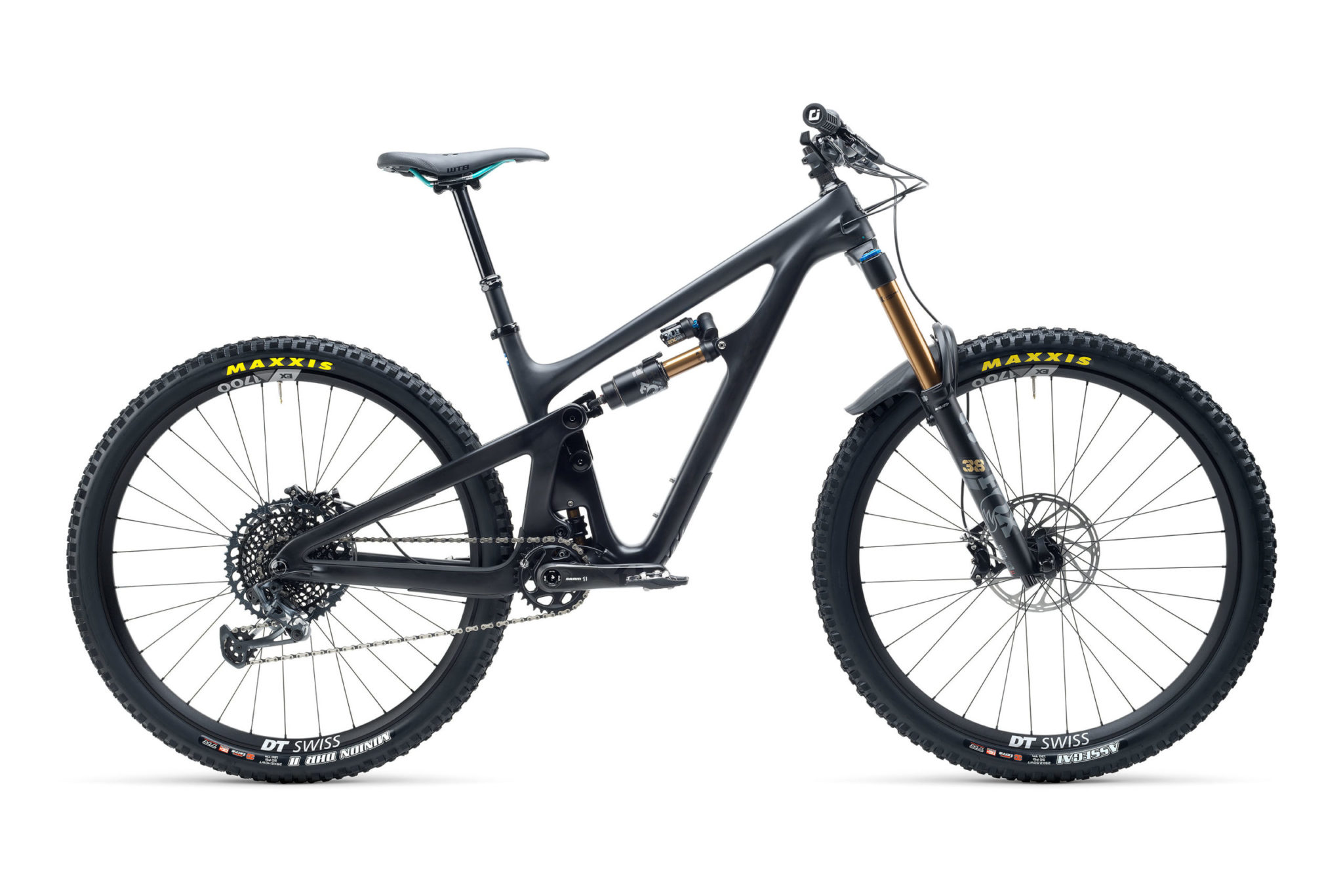 2021 YetiCycles SB150 T2 Black scaled