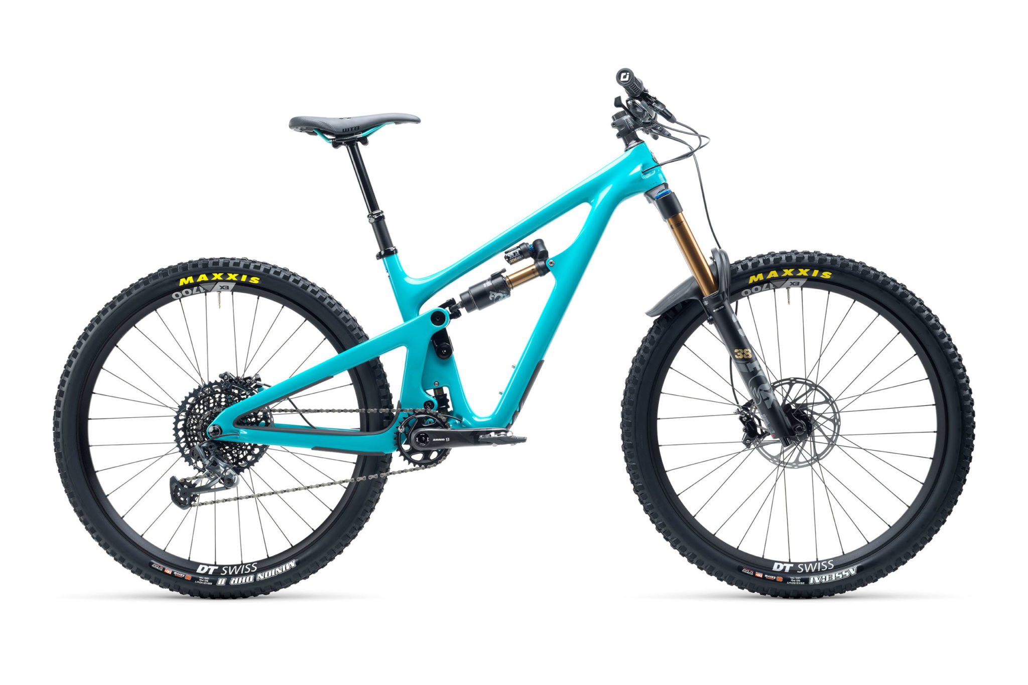 2021 YetiCycles SB150 T2 Turq scaled