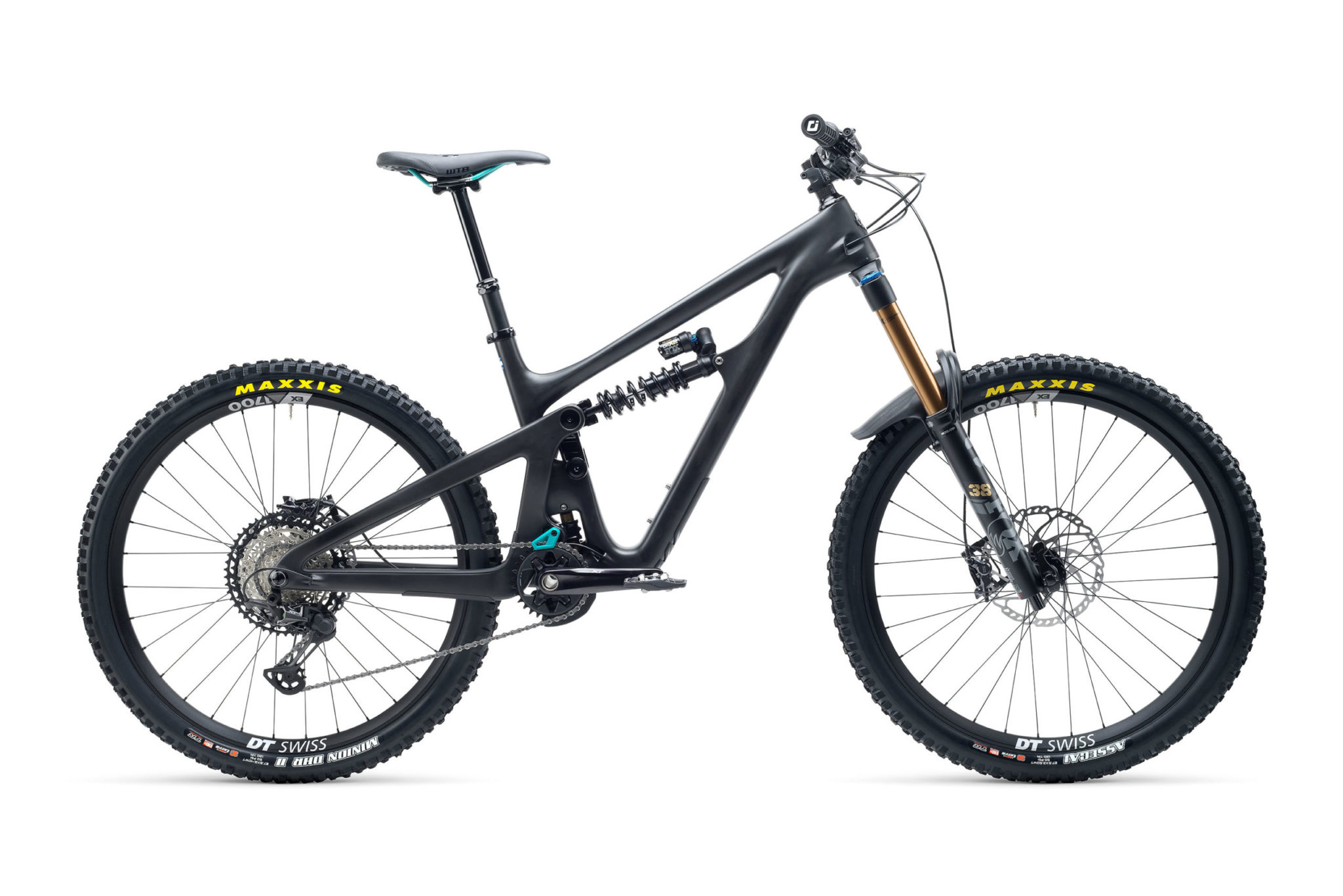 2021 YetiCycles SB165 T1 Black scaled