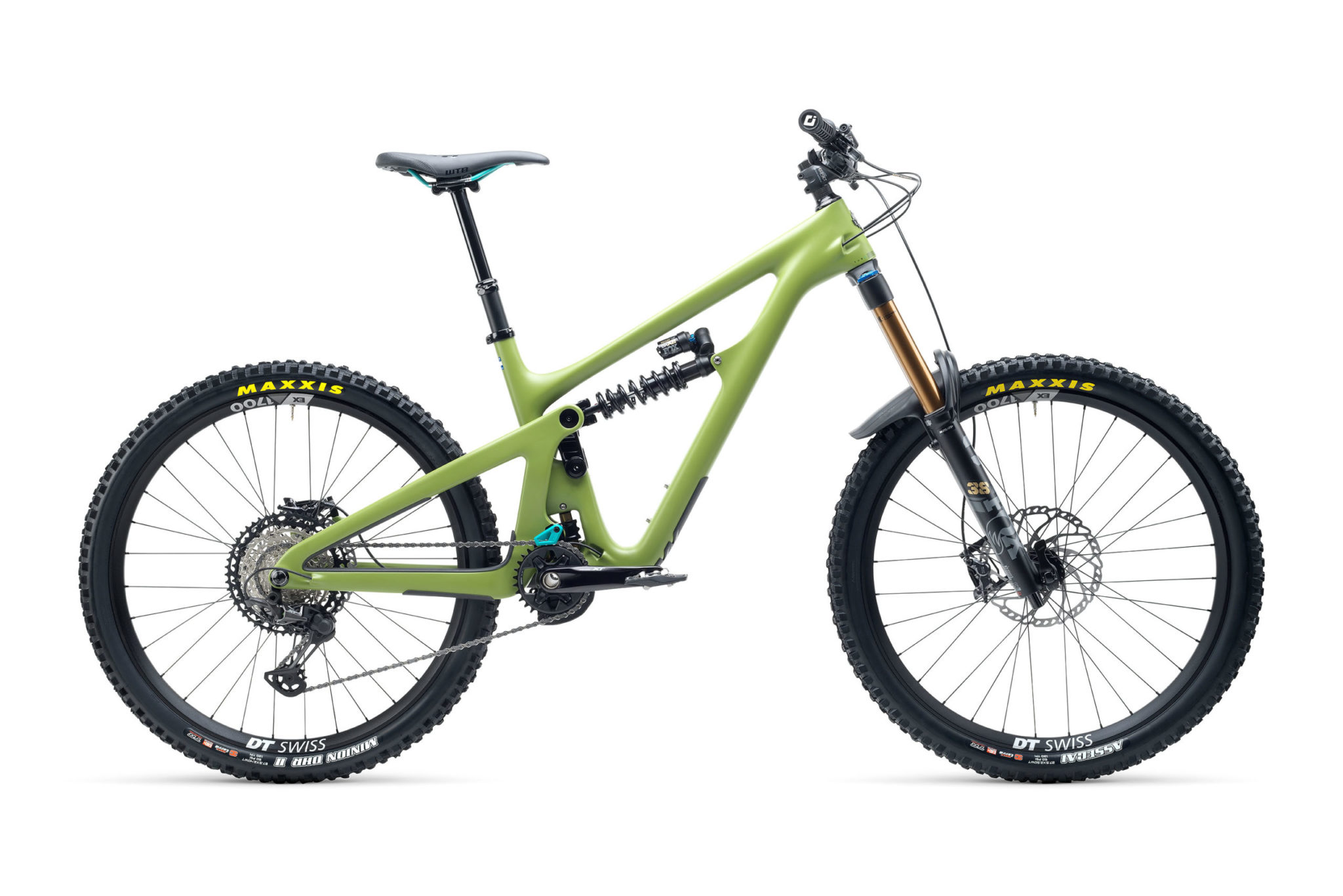 2021 YetiCycles SB165 T1 Moss scaled