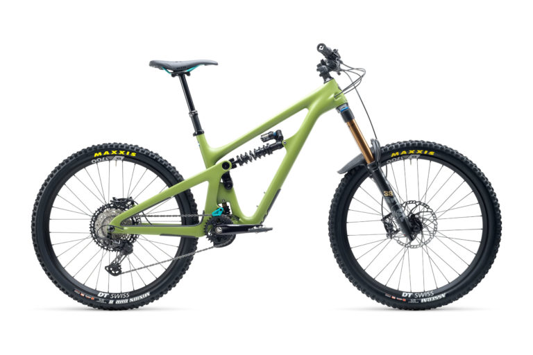 2021 YetiCycles SB165 T1 Moss