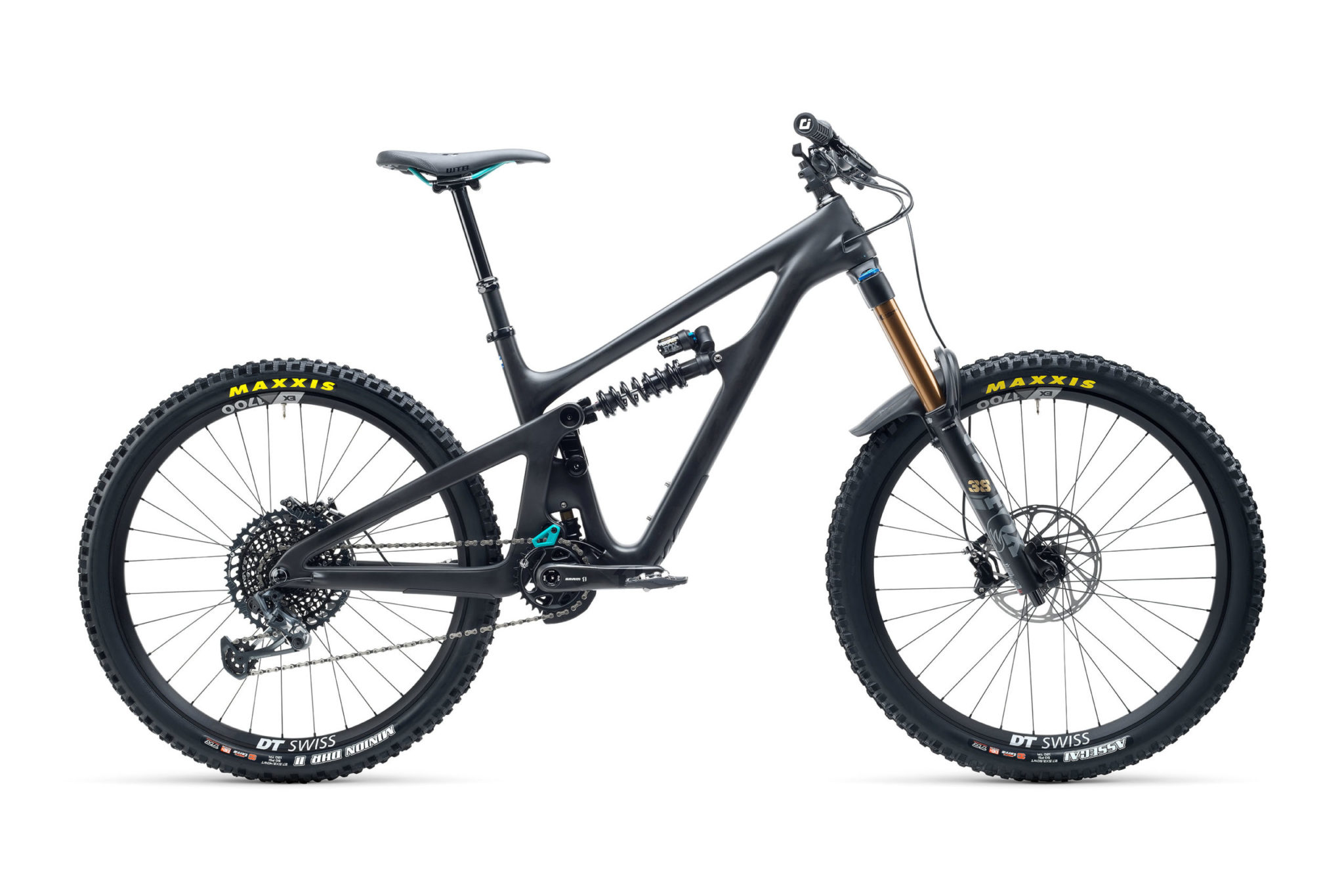 2021 YetiCycles SB165 T2 Black scaled