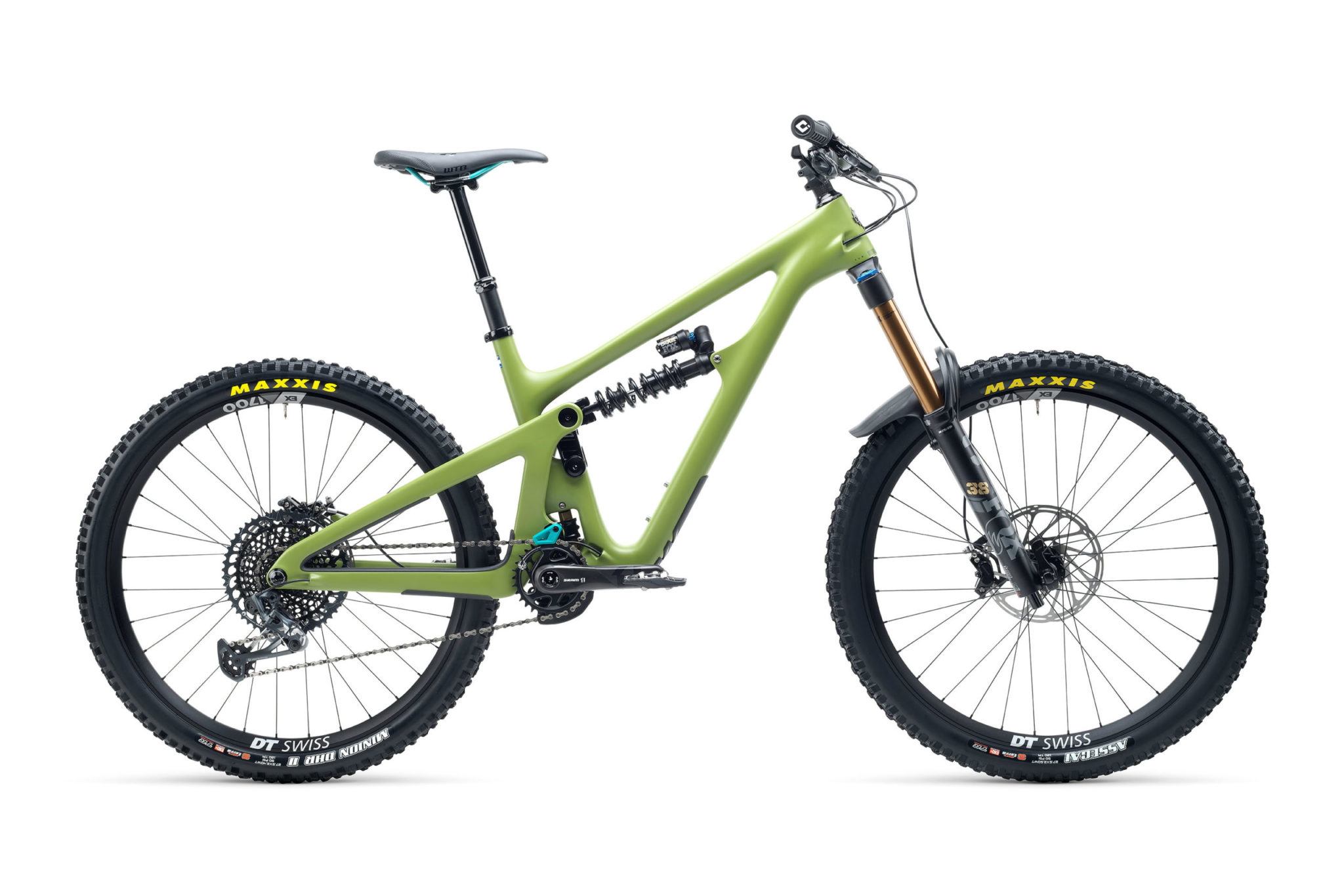 2021 YetiCycles SB165 T2 Moss scaled